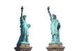 Freiheitsstatue - Liberty Island - New York - freigestellt
