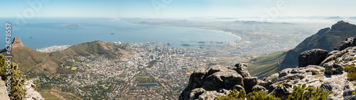 Deurstickers Afrika Cape Town panoramic view, Table Mountain, South Africa