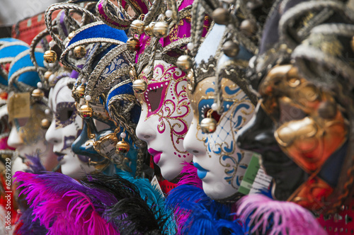 maschere al carnevale di Venezia,Italia