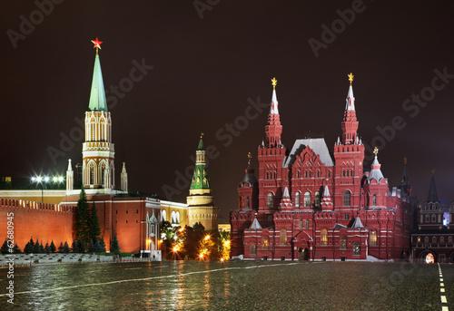 Красная площадь в Москве. Россия © Andrey Shevchenko