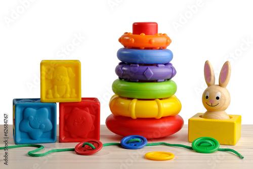 Fotografie, Obraz  toys for motor development of the child