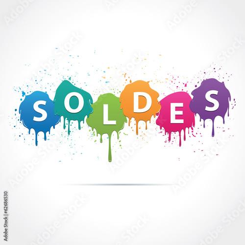 Fényképezés  Soldes-tâches