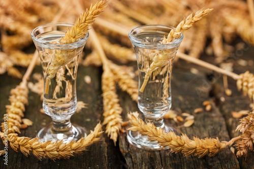 Valokuva Schnapsgläser mit Korn