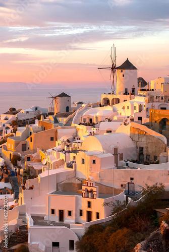 Fototapeta Santorini Greece obraz