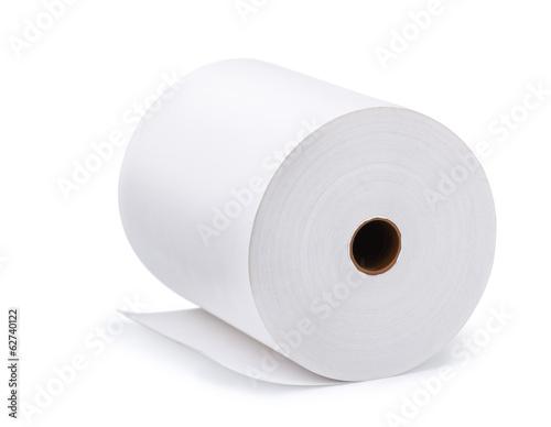 Fotografía Large roll of blank paper