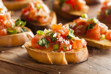 Homemade Italian Bruschetta Ap...