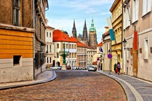 Street In The Old Town Of Prag...