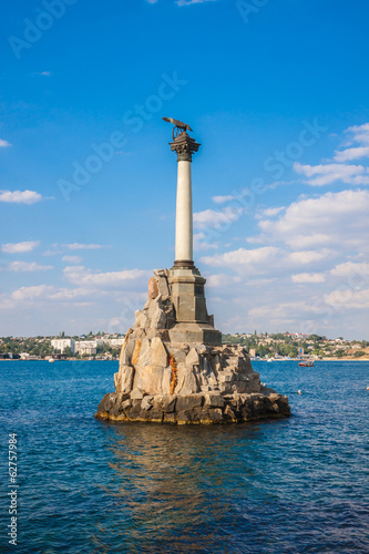 Fotografie, Obraz  Monument to the Scuttled Warships in Sevastopol