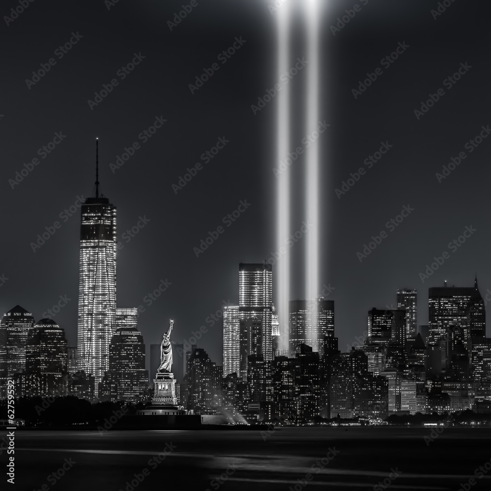 Fototapeta 12 years later…Tribute in Lights, 9/11