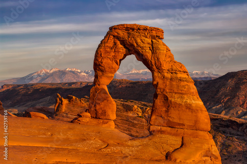 Poster Natuur Park Delicate Arch
