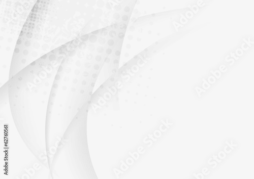 Grey waves vector design