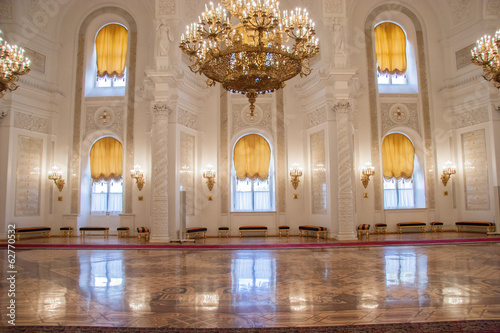Foto  Georgievsky Hall of the Kremlin Palace, Moscow