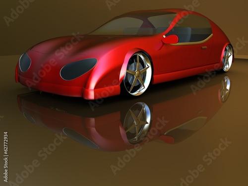 Non-branded generic concept car #62772934