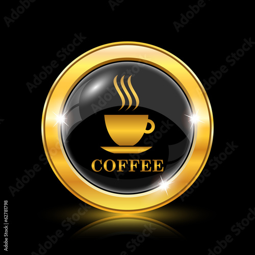 Coffee cup icon - 62781798
