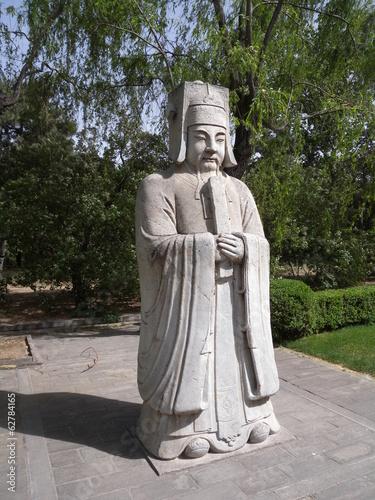 Foto op Aluminium Beijing Beamter an den Ming Gräbern
