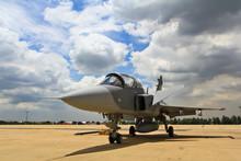 BANGKOK, THAILAND - JULY 02: F-16 Of Royal Thai Air Force