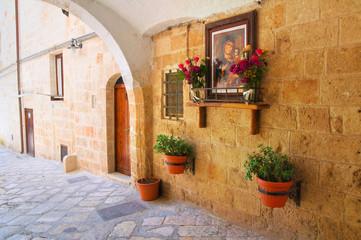Fototapeta na wymiar Alleyway. Monopoli. Puglia. Italy.