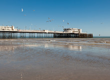 Worthing Beach, West Sussex, U...