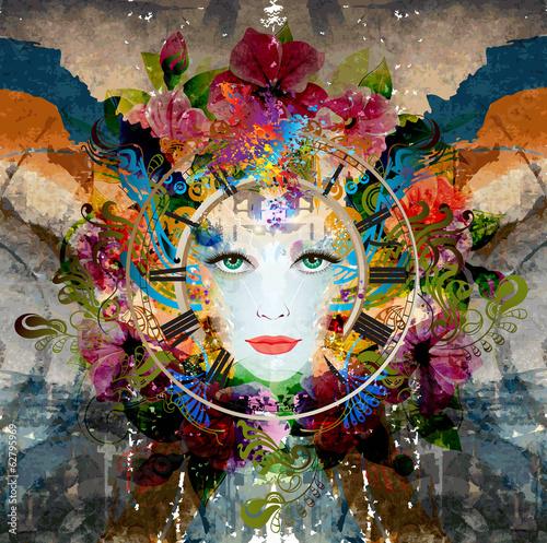 Fotografie, Obraz  женская магия