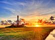 canvas print picture - Westerhever Leuchtturm