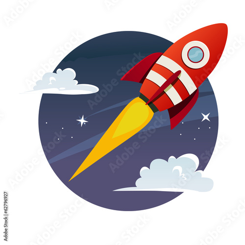 rocket Canvas