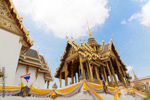 Wall Murals Temple Wat Phra Chetuphon Vimolmangklararm Rajwaramahaviharn