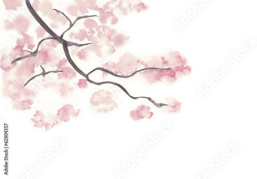 桜の木の枝 Adobe Stock でこのストックイラストを購入して類似の
