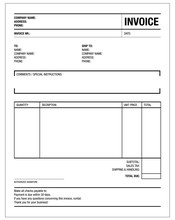 Template Of Unfill Paper Tax I...