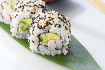 Fototapeta Sushi roll