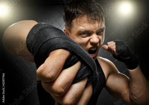 Fotografia, Obraz  fighter
