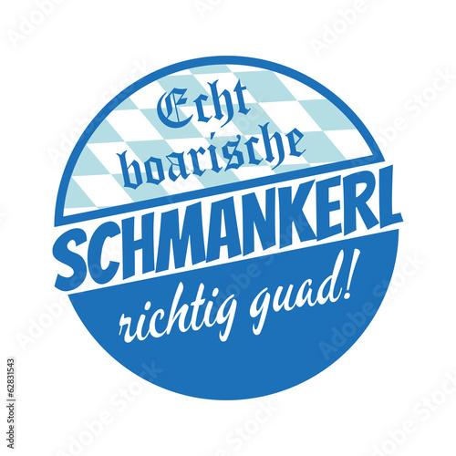Fotografie, Obraz  schmankerl bayerisch essen