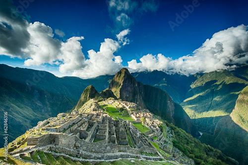 Photo Stands South America Country Machu Picchu