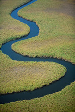 Winding River Course, Seen Fro...