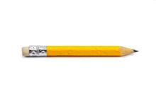 A Short, Chewed Up Pencil Stub
