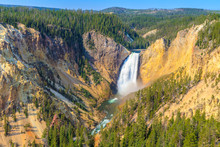 Lower Falls Of The Grand Canyo...