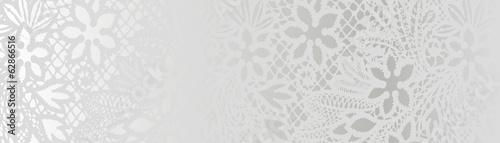 Valokuva  white background with lace pattern
