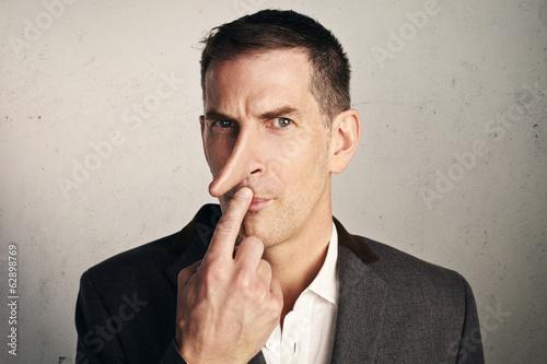 Photo Portrait of a liar