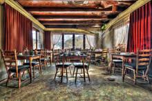 Abandoned Restaurant Dining Room