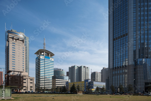 CBD area in the xian
