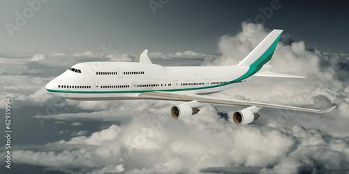 Fotografia  747 Airplane