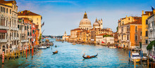 Canal Grande Panorama At Sunse...