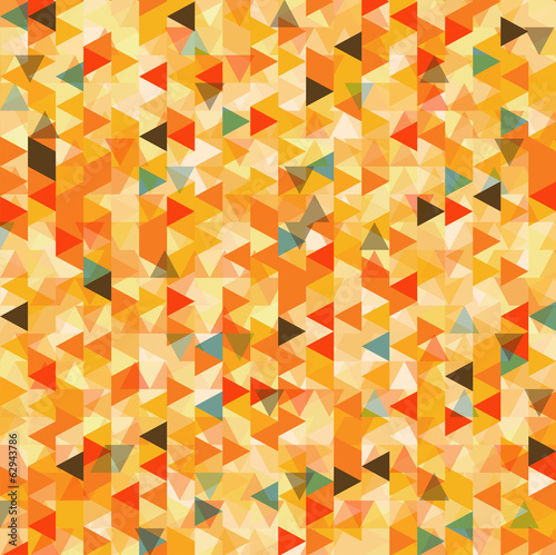 Foto op Aluminium ZigZag Triangle abstract background, vector
