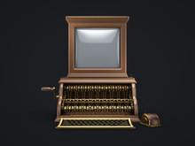 Steam Punk Vintage Computer