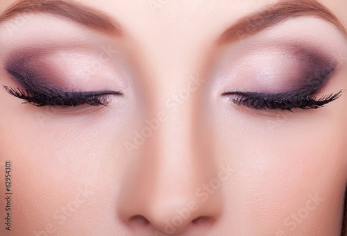 Fotografie, Obraz  Close up portrait professional make up