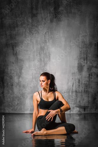 Stampa su Tela  yoga training