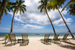 Tropical beach, perfect place for relaxing