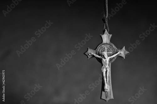 Fotomural The Cross of St. Benedict
