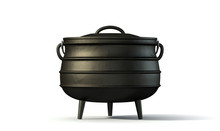 Potjiekos Pot Black