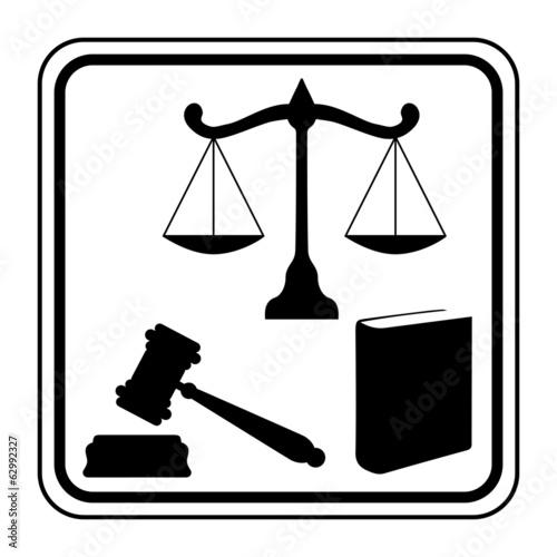 Photo  Logo justice.