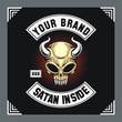 Skull Devil Biker